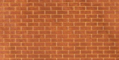 Pack of 2 English Bond Brick plastic sheets (365x260mm approx)