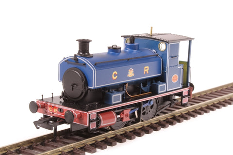"Andrew Barclay 0-4-0ST 14"" 1863 in Caledonian Railway lined blue"