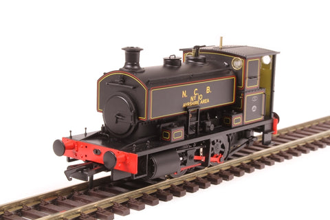 "Andrew Barclay 0-4-0ST 16"" 2244 'No.10' in NCB lined black"