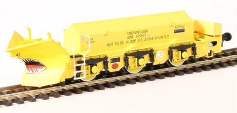 Beilhack snow plough (ex Class 40) ZZA ADB965579 in BR yellow