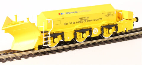 Beilhack snow plough (ex Class 45) ZZA ADB966099 in BR yellow with NSE Branding