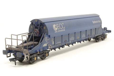 PGA Tiger Clay Wagon ECC 33 70 9382073 (weathered) Exclusive to Kernow Model Rail Centre - Pre-owned - Like new