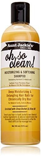 Aunt Jackie's Oh So Clean Moisturizing And Softening Shampoo