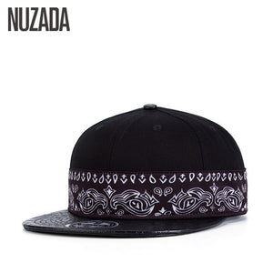 Brands NUZADA Hip Hop Hats  Women Men Baseball Caps 3D Thermal Transfer Snapback Bone Cap Creative PU Leather jt-056 - Zamavi.com