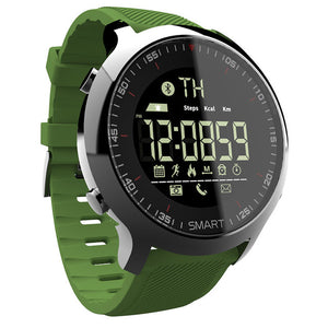 Top Smart Watch 2018 Wearable Devices Waterproof IP67 pedometers bluetooth Sport Men Watches For IOS Android Phone LOKMAT - Zamavi.com