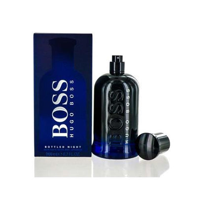 BOSS BOTTLED NIGHT HUGO BOSS EDT SPRAY 6.7 OZ (200 ML) FOR MAN