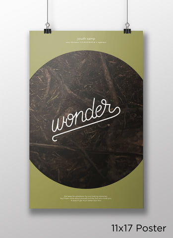 Poster - Wonder - Youth