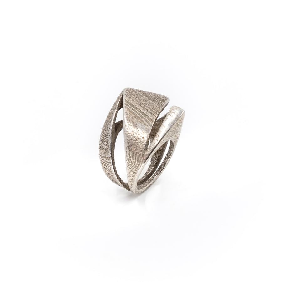 Mavericks Ring - 3D Printed Steel