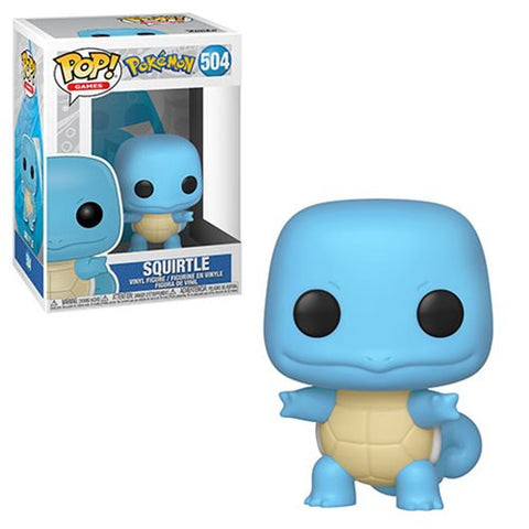 [PRE-ORDER] Funko POP! Pokemon - Squirtle Vinyl Figure #504
