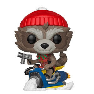 [PRE-ORDER] Funko POP! Marvel Holiday - Rocket Vinyl Figure