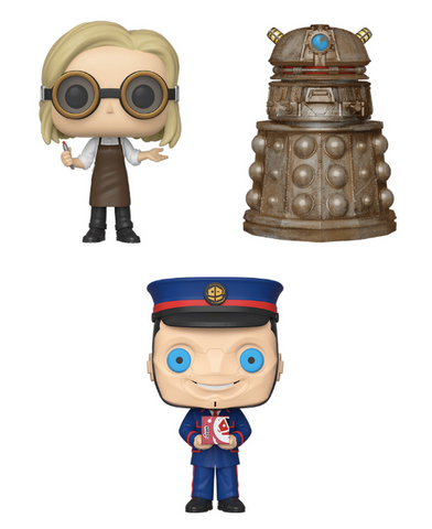 [RPE-ORDER] Funko POP! Doctor Who - Set of 3