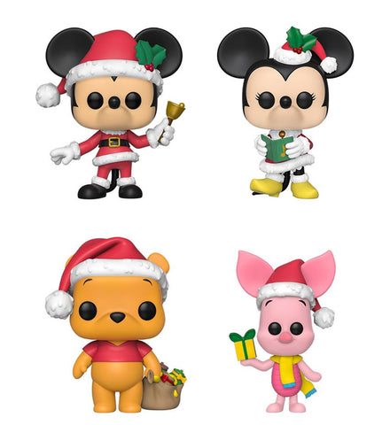 [PRE-ORDER] Funko POP! Disney Holiday - Set of 4