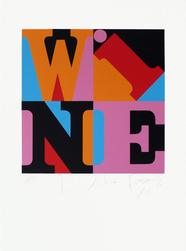 Frizzell_2010_I Heart Wine_screenprint on paper_760x580mm_aFRI775-10