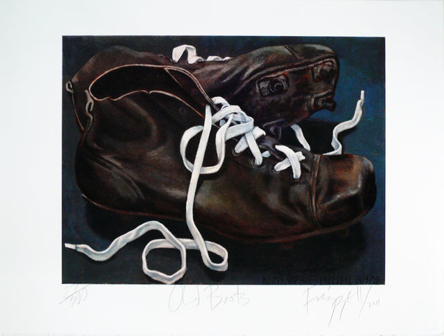 Frizzell_2011_Old Boots_screenprint_600 x 795mm_aFRI826-11