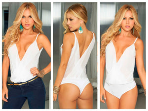 9792 Body-Blouse Color White