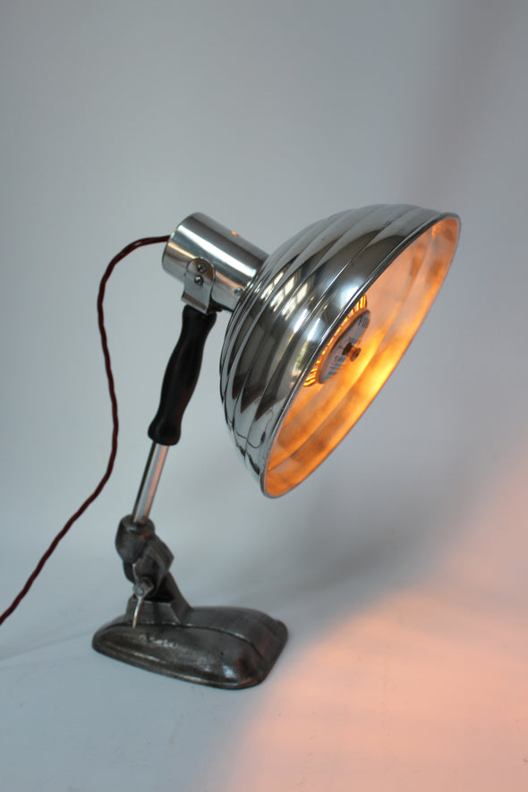 Vintage Original Pifco Heat Lamp converted to Desk Lamp