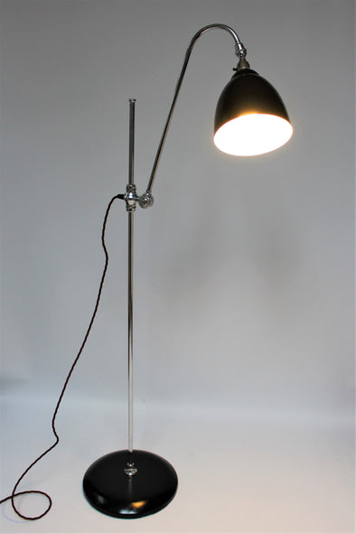 Beautiful and Rare Original 1930s Supreme Adapt-o-Lite Floor Lamp