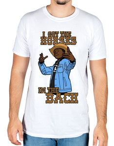 Lil Nas X i got the horses in the back Graphic T-Shirt