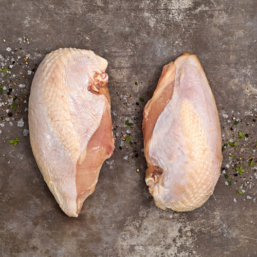 Antibiotic Free Bone-In Chicken Split Breast - Antibiotic Free Bone-In Chicken Split Breast
