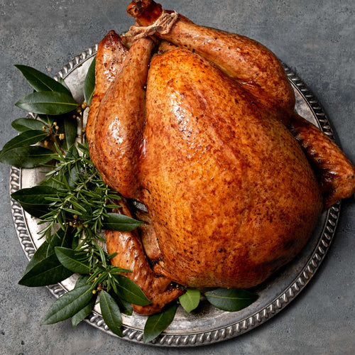 Whole Young Turkey Enhanced up to 8% solution* - Butterball - Aromatic Roast Turkey   with Bourbon Peppercorn Gravy