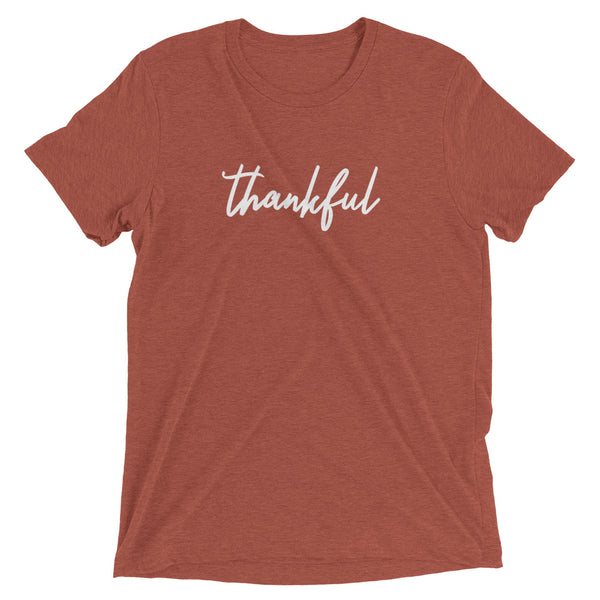 "Thanksgiving ""Thankful"" Short Sleeve T-Shirt"