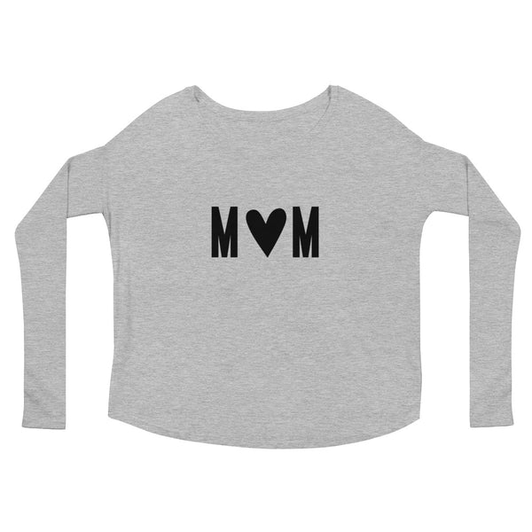 "Mother's Day ""Mom"" Ladies' Long Sleeve T-Shirt"