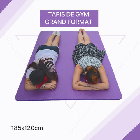 Tapis de gym grand modèle 15mm