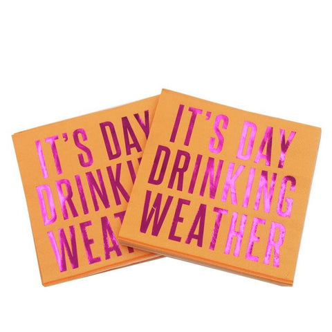 It's Day Drinking Weather Napkin
