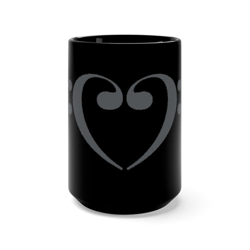 Mug Filthy Bass Clef Heart