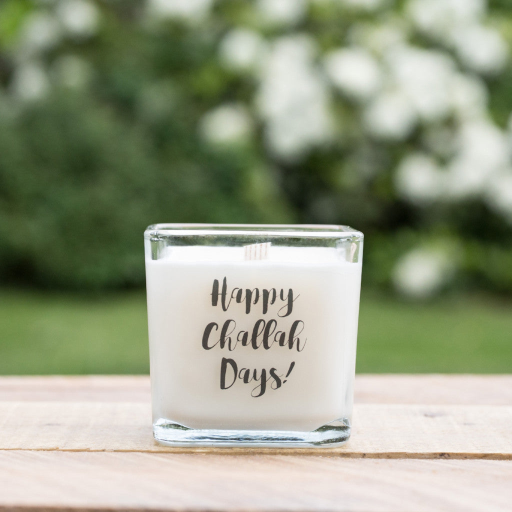 Happy Challah Days Soy Candle - Peace Love Light Shop
