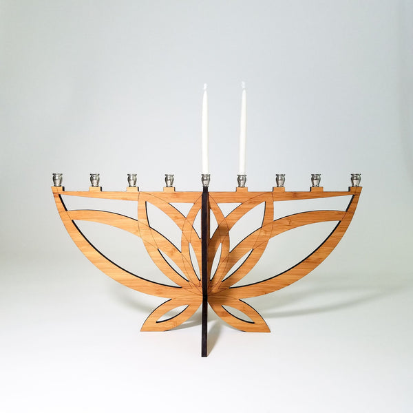Lotus Flower Menorah - Peace Love Light Shop