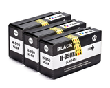 3 Pack Compatible Ink Cartridges Replacement for HP 950XL/951XL(3 Black)