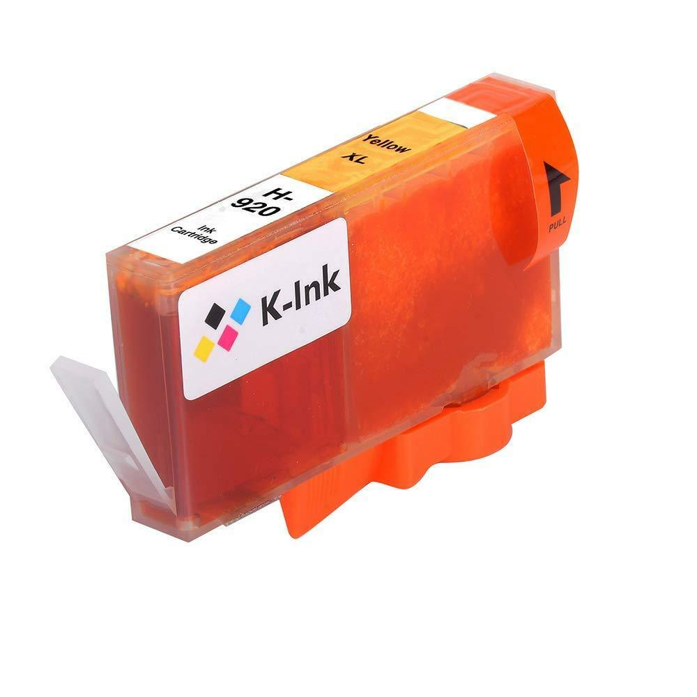 K-Ink Compatible Ink Cartridge Replacement for HP 920 XL 920XL (4 Pack)