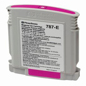 Genuine Pitney Bowes 787-E Magenta Ink Cartridge (Standard) for the SendPro P / Connect+ Series Postage Meters