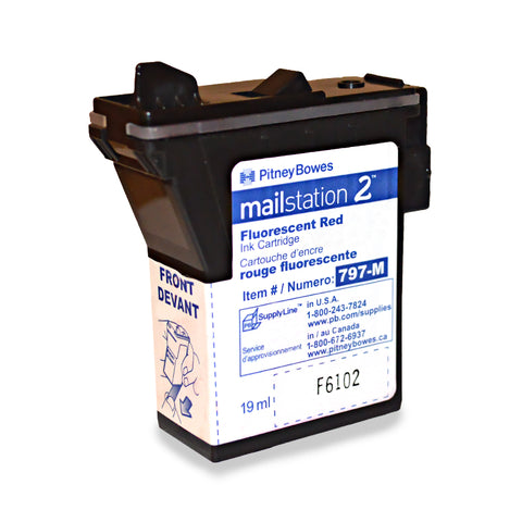 Genuine Pitney Bowes Mailstation 2 K7M0 Ink 797-M