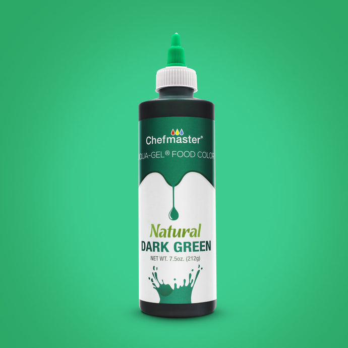 Dark Green Natural Food Coloring 7.5 oz.