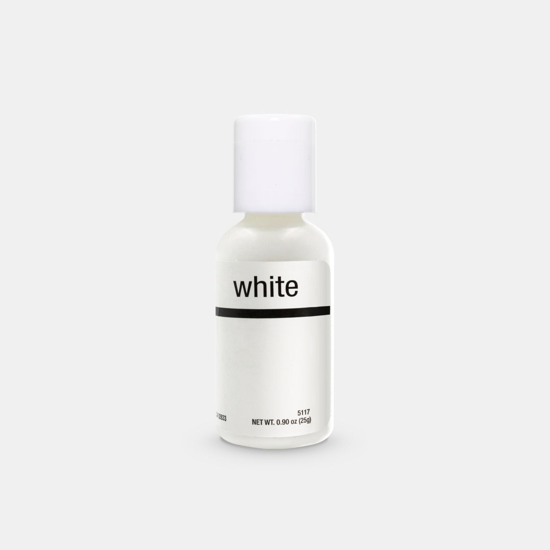 Bright White Liqua-Gel Food Coloring 20ml