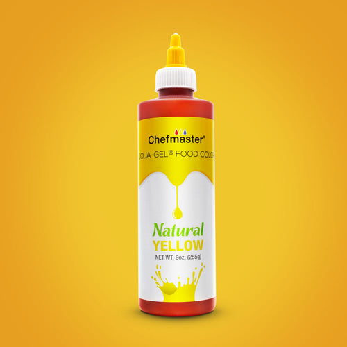 Yellow Natural Food Coloring 9 oz.