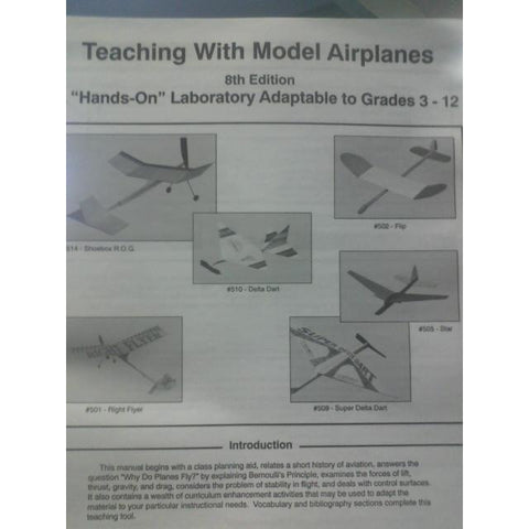 Booklet, Teaching w/ Model Airplanes -  - Activity Based Supplies