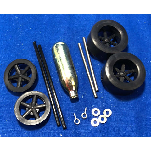 Car Kit Wheel Bag (For Co2 Dragster) - Dragster Parts and Accessories - Activity Based Supplies