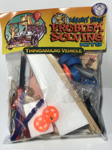 Thingamajig Vehicle Problem Solving Stem Kits - Problem Solving - Activity Based Supplies
