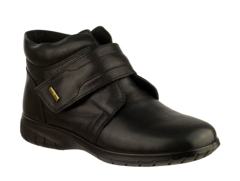 Cotswold Chalford Womens Waterproof Touch Fastening Casual Boot Black
