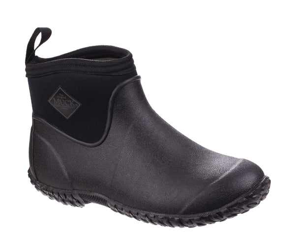 Muck Boot Muckster II Ankle Mens Short Wellington Boot Black