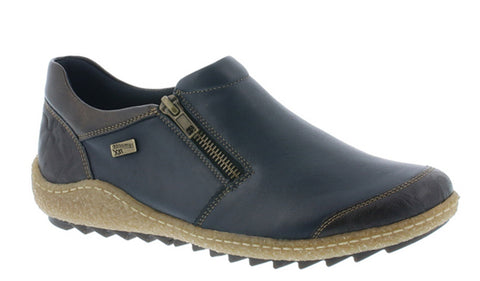 Remonte R4701 Womens Zip Fastening Slip On Casual Shoe
