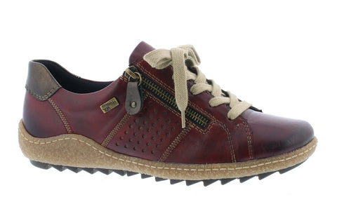 Remonte R4717 Womens Leather Lace Up Casual Shoe