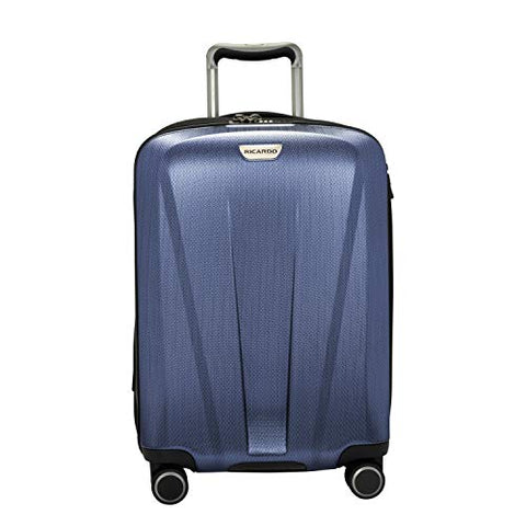 Ricardo Beverly Hills San Clemente 2.0 21-Inch Carry-On Suitcase (Slate Blue)