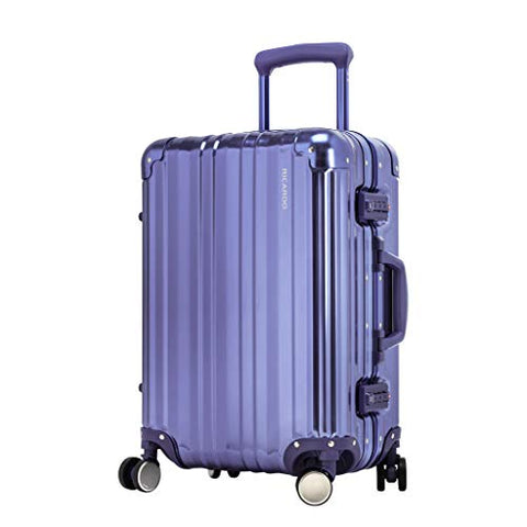 Ricardo Beverly Hills Aileron 20 Inch Carry On Spinner Blue