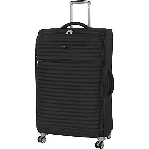 "It Luggage 31.3"" Quilte Lightweight Expandable Spinner, Black"