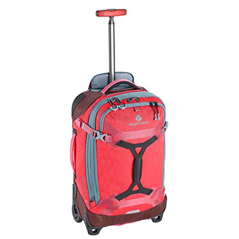 Eagle Creek Gear Warrior International Carry-On Rolling Duffel Bag, Coral Sunset