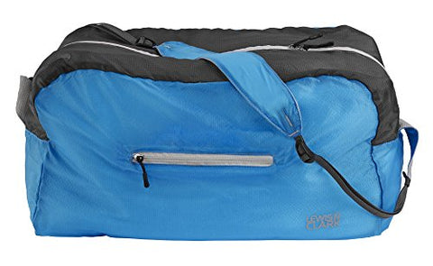 Lewis N Clark Electrolight Duffel, Bright Blue/Charcoal, One Size